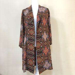 NWOT TopShop Kimono Open Cardigan Size 6